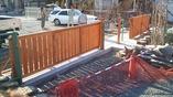 加須市 保育園フェンス改装工事の画像