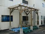 調布市 倉庫外部作業場増設工事の画像